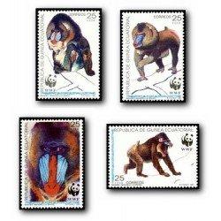 1991 Guinea Ecuat. Protección de la Naturaleza (Edif.139/42)**