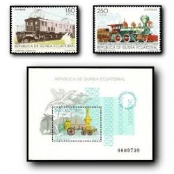 1991 Guinea Ecuat. Ferrocarriles del Mundo (Edif.146/8)**