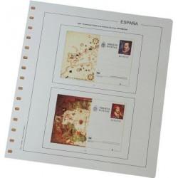 Juego Hojas Tarjetas Entero Postales España 1873/1949