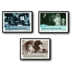 1992 Guinea Ecuat. Homenaje al Cine (Edif.153/5)**