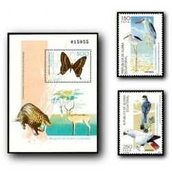 1992 Guinea Ecuat. Protección a la Naturaleza (Edif.156/8)**