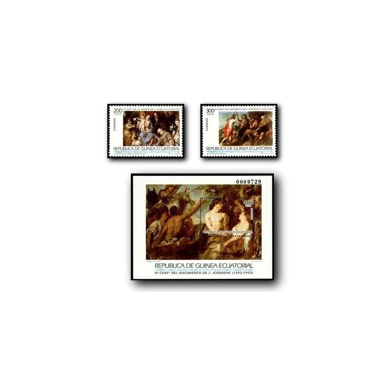 1993 Guinea Ecuat. Grandes Maestros de la Pintura (Edif.162/4)**