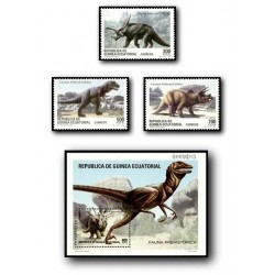 1994 Guinea Ecuat. Fauna Prehistórica (Edif.182/5)**