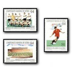 1994 Guinea Ecuat. Campeonato Mundial de Fútbol 1994 (Edif.186/88)**