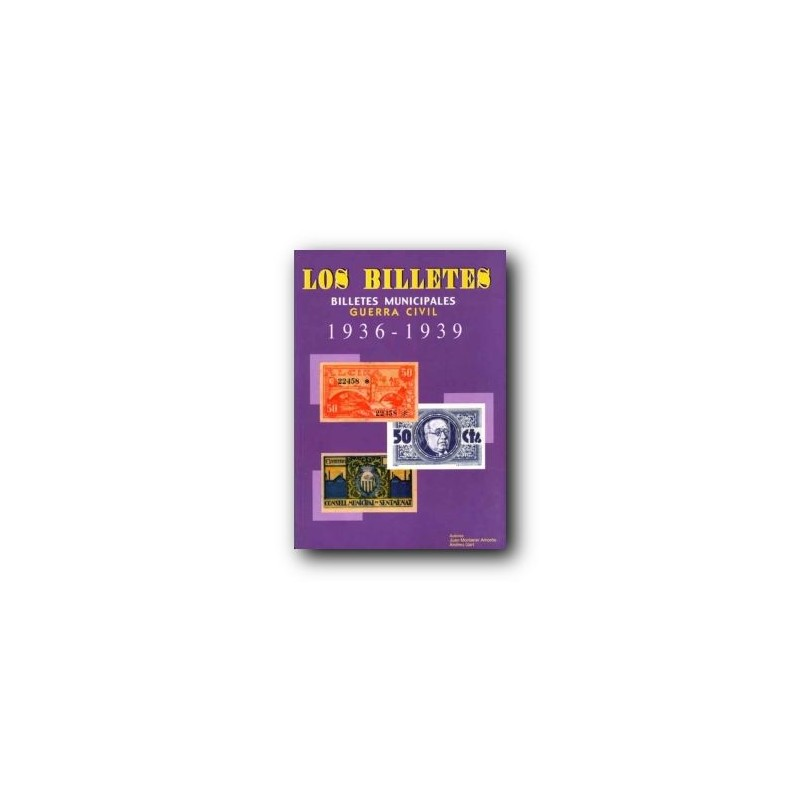 Catalogo de los billetes municipales en la Guerra Civil