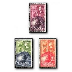 1964 España. Día Mundial del Sello. (Edif. 1595/97) **