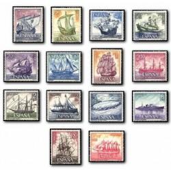 1964 España. Homenaje a la Marina Española. (Edif. 1599/12) **