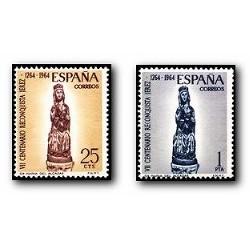 1964 España. VI Cent. de la Reconquista de Jerez. (Edif. 1515/16) **