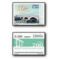 2006 España. Centenarios (Edif. 4256/7)**
