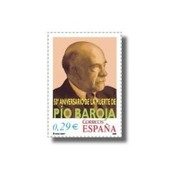 2006 España. 50 Aniv. de la Muerte de Pío Baroja (Edif. 4285)**