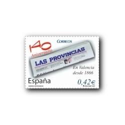 2007 España. Diarios Centenarios - Las Provincias (Edif. 4309)**
