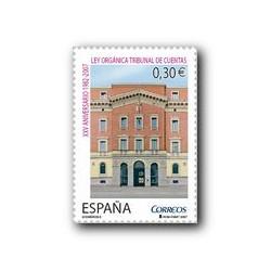 2007 España. Ley Orgánica del Tribunal de Cuentas (Edif. 4332)**