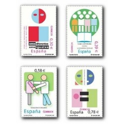 2007 España. Valores Cívicos (Edif. 4333/36)**