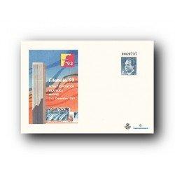 1993 España. Sobre FILATELIA '93 (Edif. 21)**