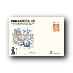 1993 España. Sobre FILAIBERIA '93 Cádiz (Edif. 20)**