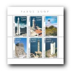 2007 España. Faros (Edif. 4348)**