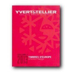 Catálogo de Sellos Yvert et Tellier Europa vol. IV 2013 de Rumanía a Yugoslavia
