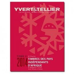 Catálogo de Sellos Yvert et Tellier P. Independientes de África 3ª parte 2014