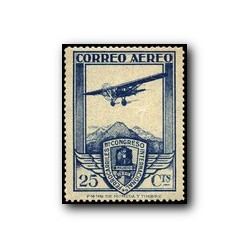 1930 XI Congreso de Internacional de Ferrocarriles. Edif. 485 * (aéreo)