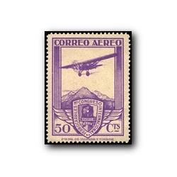 1930 XI Congreso de Internacional de Ferrocarriles. Edif. 486 * (aéreo)