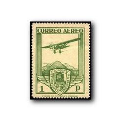 1930 XI Congreso de Internacional de Ferrocarriles. Edif. 487 * (aéreo)