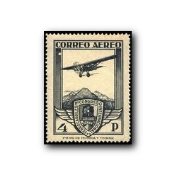 1930 XI Congreso de Internacional de Ferrocarriles. Edif. 488 * (aéreo)