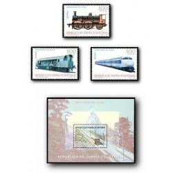 1995 Guinea Ecuat. Ferrocarriles del Mundo (Edif.206/209)**