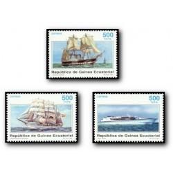 1996 Guinea Ecuat. Barcos de Ayer y Hoy (Edif.226/228) **