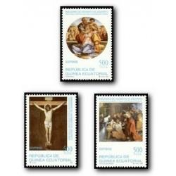 1999 Guinea Ecuat. Bimilenario del Nacimiento de Cristo (Edif.252/54) **
