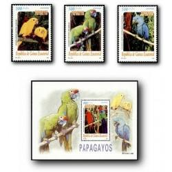 2000 Guinea Ecuat. Papagayos (Edif.259/262) **