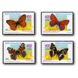 2000 Guinea Ecuat. Mariposas (Edif.267/270) **