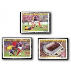 2003 Guinea Ecuat. Copa del Mundo de Fútbol 2002 (Edif.304/306) **