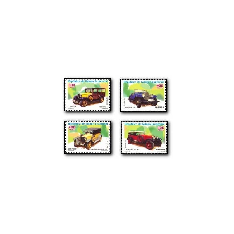2003 Guinea Ecuat. Automóviles (Edif.310/313) **