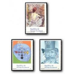 2003 Guinea Ecuat. Efemérides 2001 (Edif.315/317) **
