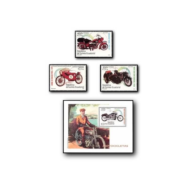 2004 Guinea Ecuat. Motocicletas Clásicas (Edif.326/329) **