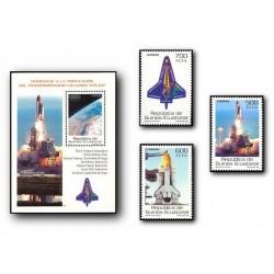 2004 Guinea Ecuat. Homenaje a la trupulación del Columbia STS-107 (Edif.333