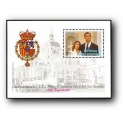2004 Guinea Ecuat. Boda del Príncipe de Asturias (Edif.341) **