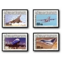 2005 Guinea Ecuat. Aviación (Edif.345/348) **