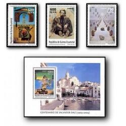 2005 Guinea Ecuat. Cent. del Nacimiento de Salvador Dalí (Edif.353/356) **