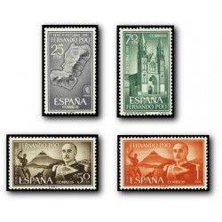 1961 Fernando Poo. XXV Aniv. del General Franco en la Jefatura del Estado (