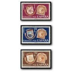 1968 Fernando Poo. Centenario del Primer Sello de Fernando Poo (Edif. 262/2