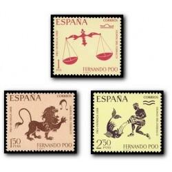 1968 Fernando Poo. Signos del Zodíaco (Edif. 265/267)**