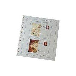 Juego Hojas Tarjetas Entero Postales España 2007
