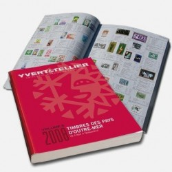 Catalogo de Sellos Yvert et Tellier Países de Ultramar de L a N 2008