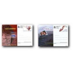 2008 España. Tarjetas Entero Postales - Valores Cívicos **