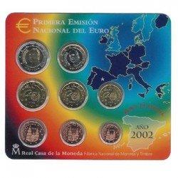 2002 España Euroset (carterita oficial)