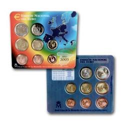 2003 España Euroset (carterita oficial con código barras)