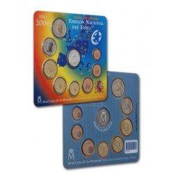 2006 España Euroset (2 carteritas oficiales, medalla Colón y Adhesión)