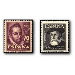 1948 Sellos de España. Personajes. (Edif. 1035/36) **