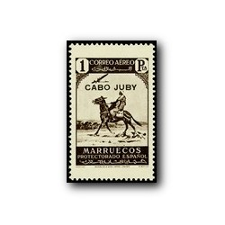 1937 Cabo Juby. Sellos del tipo de Marruecos (Edif. 109)*